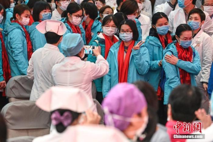 广东新一批医疗队赴武汉支援协和医院