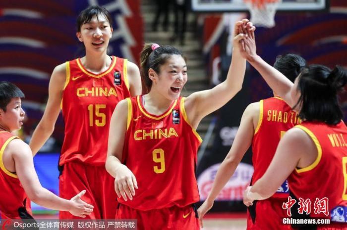 中国女篮东京奥运小组赛赛程出炉 首战对阵波多黎各
