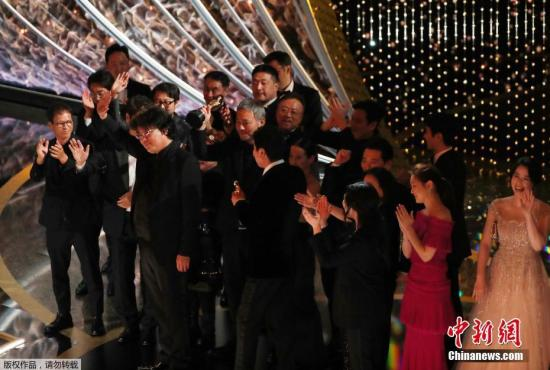 South Korean film 'Parasite' makes history at 92nd Oscars