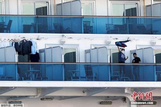 澳大利亞包機接回日郵輪本國乘客 共安排5次檢查