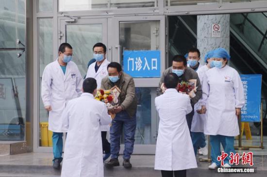 资料图:青海省18例确诊患者全部治愈出院。 <a target='_blank' href='http://www.chinanews.com/'>中新社</a>记者 马铭言 摄