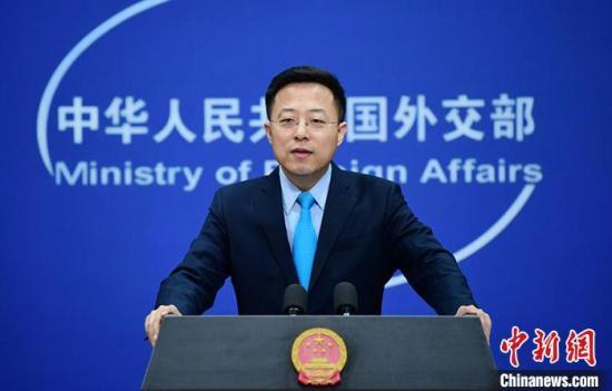 外交部新任发言人赵立坚。 供图
