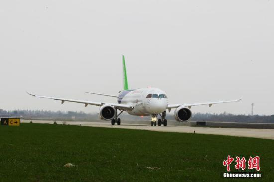 Chinese C919 aircraft begins high temperature test in Xinjiang