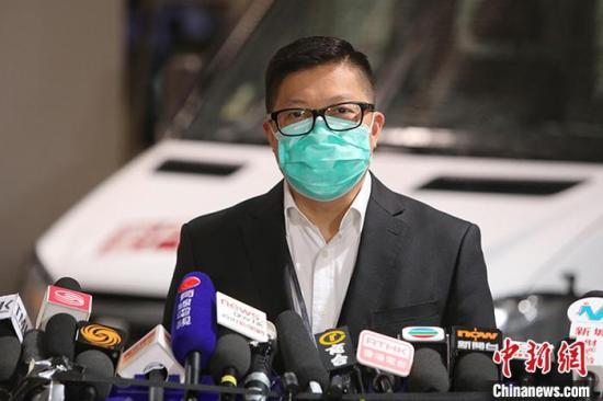 资料图:香港警务处处长邓炳强。<a target='_blank' href='http://www.chinanews.com/'>中新社</a>记者 谢磊 摄