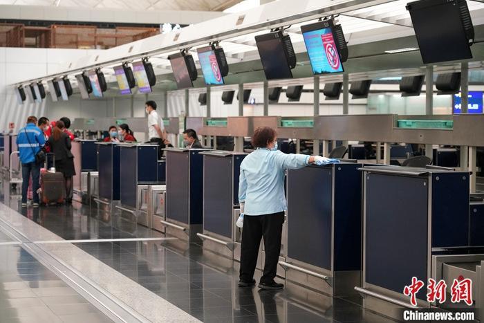 资料图:香港国际机场。<a target='_blank' href='http://www.chinanews.com/'>中新社</a>记者 张炜 摄