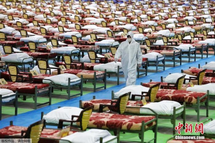 伊朗新冠确诊病例超50万 原子能组织主席确诊图片