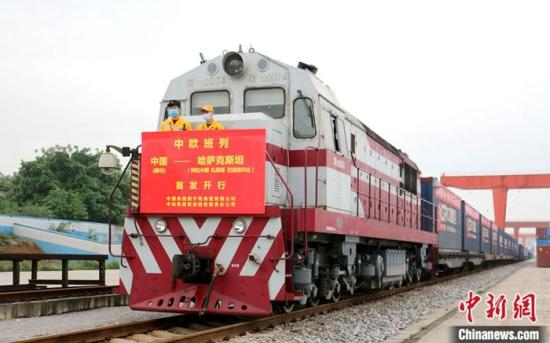 China-Europe train departs with 200,000 Singles Day parcels