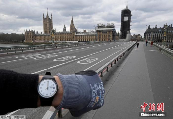 原料图:英国伦敦,威斯敏斯特桥。