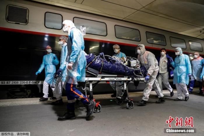 法国死亡病例增至8078例 累计住院患者达51557人