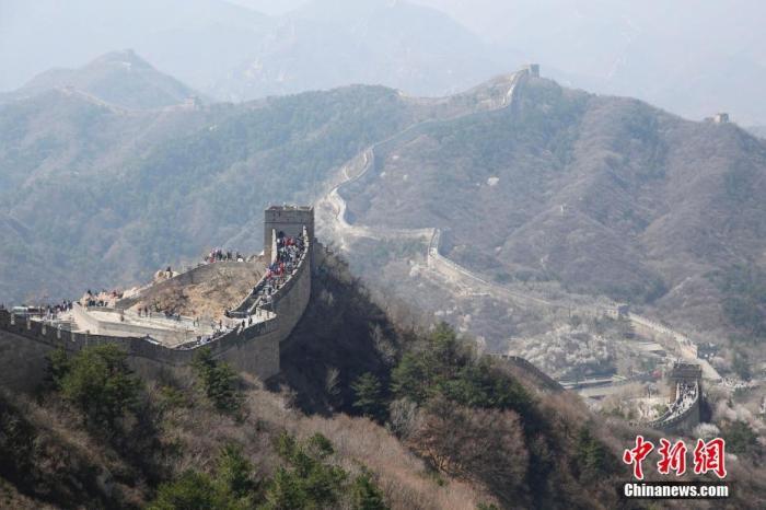 资料图:北京八达岭长城景区。中新社记者 韩海丹 摄
