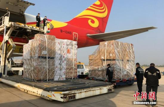 China's Hubei launches regular air cargo route linking Wuhan with Dallas, Los Angeles