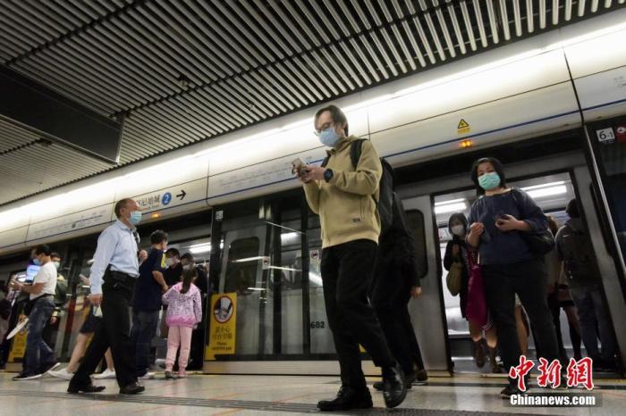 資料圖:港鐵。記者 李志華 攝