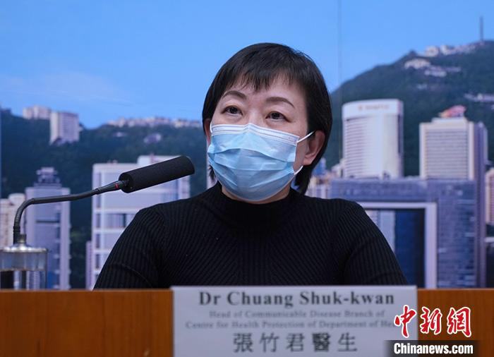 资料图:卫生署卫生防护中心传染病处主任张竹君。/p中新社记者 张炜 摄