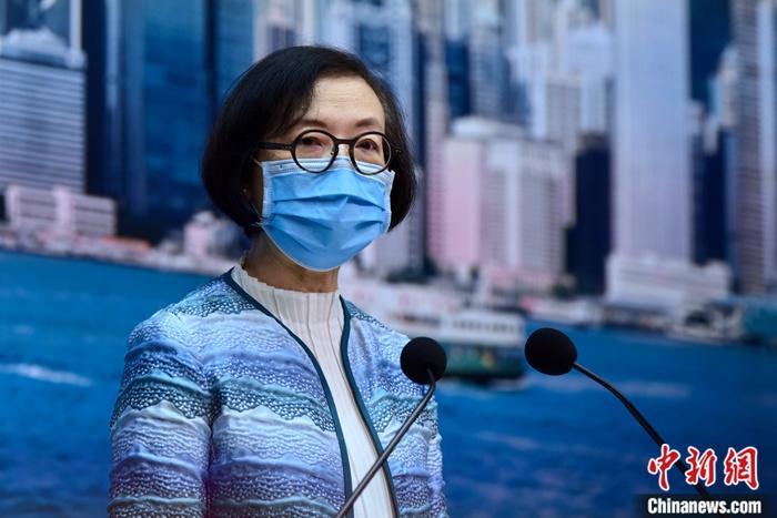 资料图:香港特区政府食物及卫生局局长陈肇始。中新社记者 李志华 摄