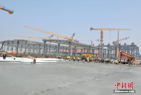 China invests 1.05 bln yuan into construction of Xiongan New Area
