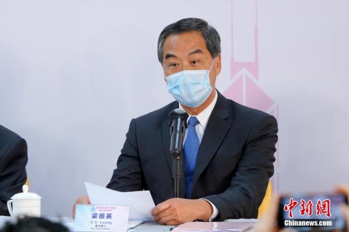 梁振英:香港再出发是必须共同实现的目标