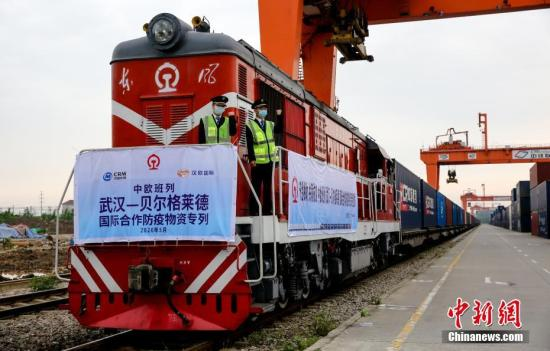 China-Europe freight trains up 36 pct in H1