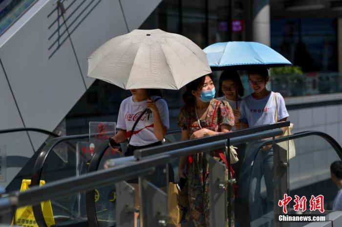 江南华南有持续性强降水 华北等地有持续性高温天气图片