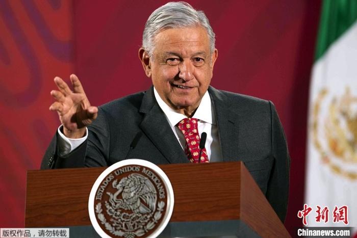 墨西哥总统新冠检测呈阳性