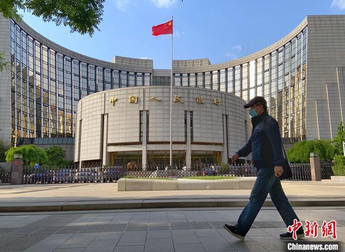 资料图:中国人民银行。记者 张兴龙 摄