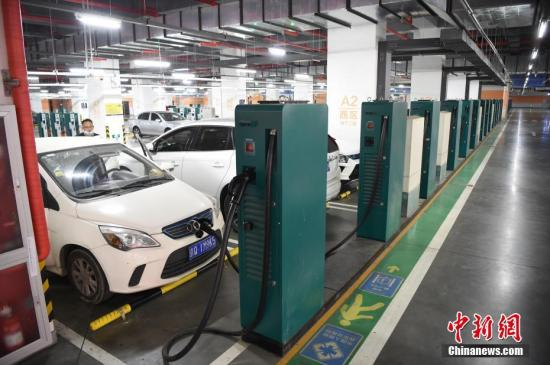 China has 566,000 public chargers for electric vehicles