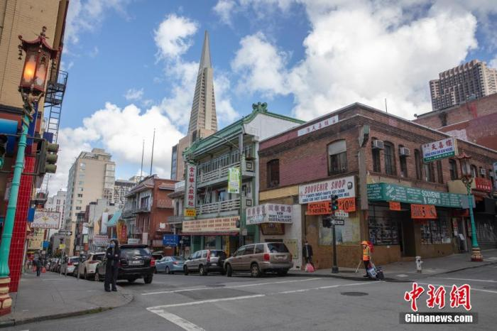 当地时间5月18日,美国旧金山华埠街头冷冷清清。<a target='_blank' href='http://htkgfwz.817psb.com/'>中新社</a>记者 刘关关 摄