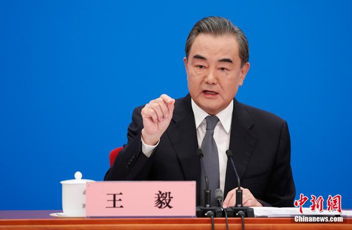 """王毅:试图将中美关系推向所谓""""新冷战""""的做法是在开历史倒车"""