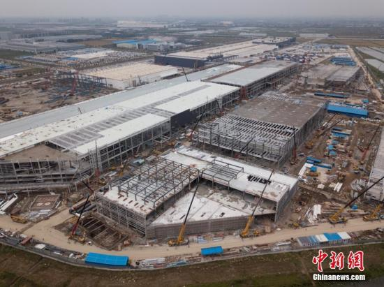 Main section of Tesla's Shanghai Gigafactory Phase 2 completed