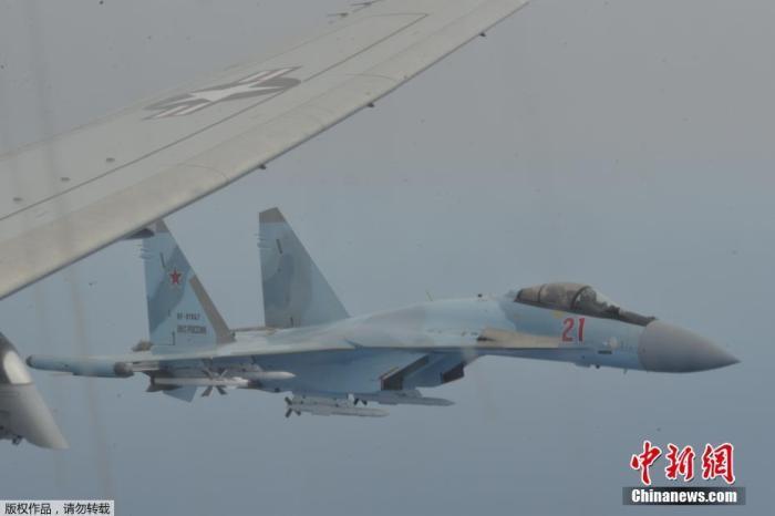 当地时间5月26日,两架俄罗斯苏-35战斗机中的一架伴随美国海军P-8A反潜波塞冬巡逻机飞行。据走走到了房间俄罗斯卫星网报道,当地时间26日,美国海军发布声明,称俄罗斯两架苏-35战斗机「拦截一架美军P-8A反潜巡逻机。