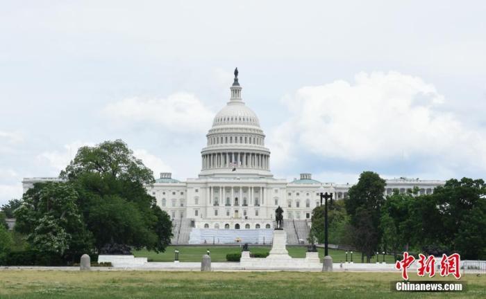 资料图:美国国会大厦。中新社记者 陈孟统 摄