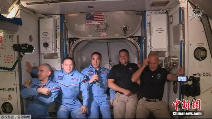 又要飞了?NASA与SpaceX拟9月再送4名航天员上太空