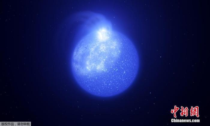 资料图:欧洲南方天文台发布了隐藏在恒星团中的一张极水平分枝星照片。