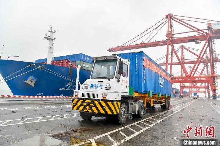 """三部门:海南自由贸易港自用生产设备""""零关税"""""""