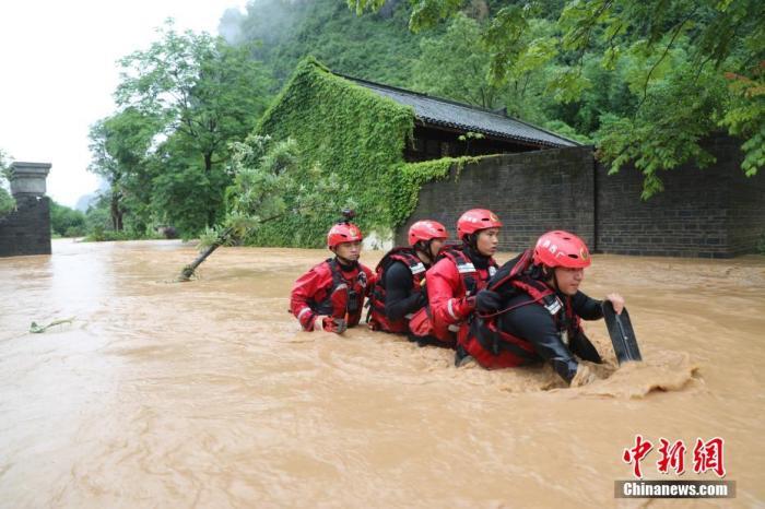 南方洪涝灾害 做好强降雨防范各项工作