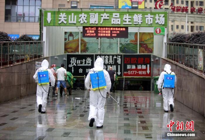 武汉一周来共抽检503家超市和农贸市场 结果均为阴性
