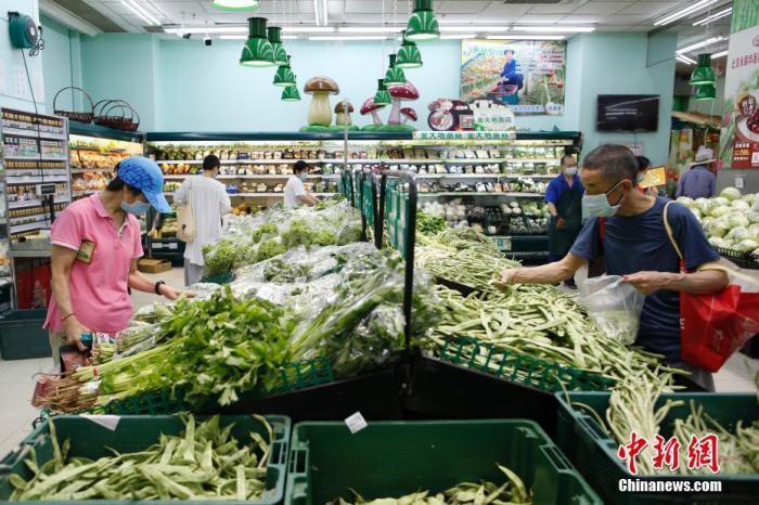 北京七大批发市场蔬菜上市量恢复至常态80%以上