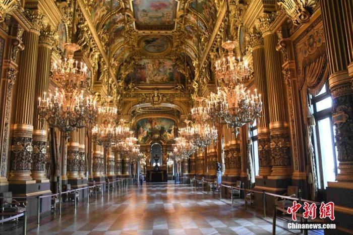 """(抗击新冠肺炎)法国进入""""解封""""第三阶段 巴黎歌剧院等场所恢复开放"""
