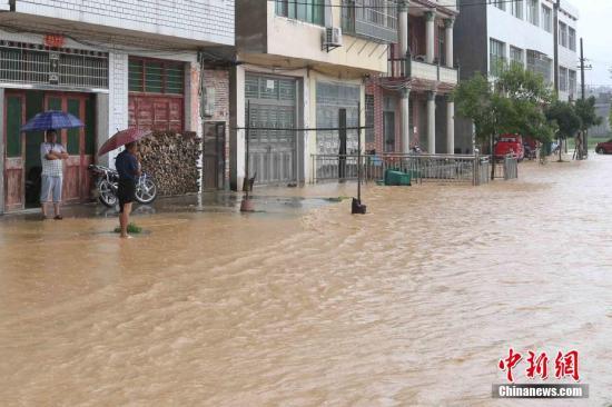 China's Jiangxi upgrades flood emergency response