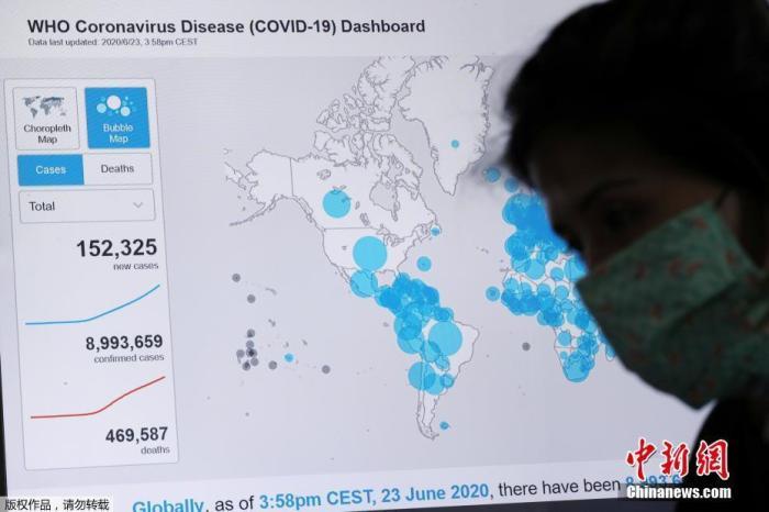 """巴西最大城市圣保罗成立疫情期间""""危机办公室"""",大数据分析掌控新冠肺炎疫情的发展情况。"""