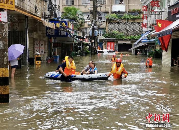强降雨已致湖北全省231.47万人受灾 紧急转移安置4.22万人