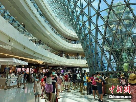 2020年海南免税商店的销售额可能超过40亿美元
