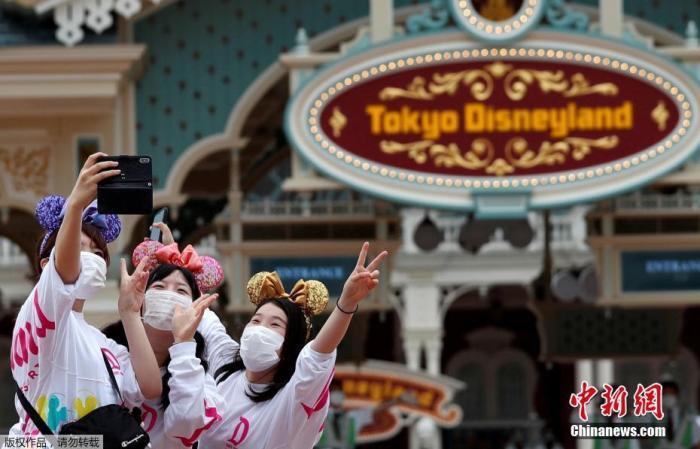 资料图:当地时间7月1日,日本东京迪士尼乐园和东京迪士尼海洋乐园恢◆复营业。