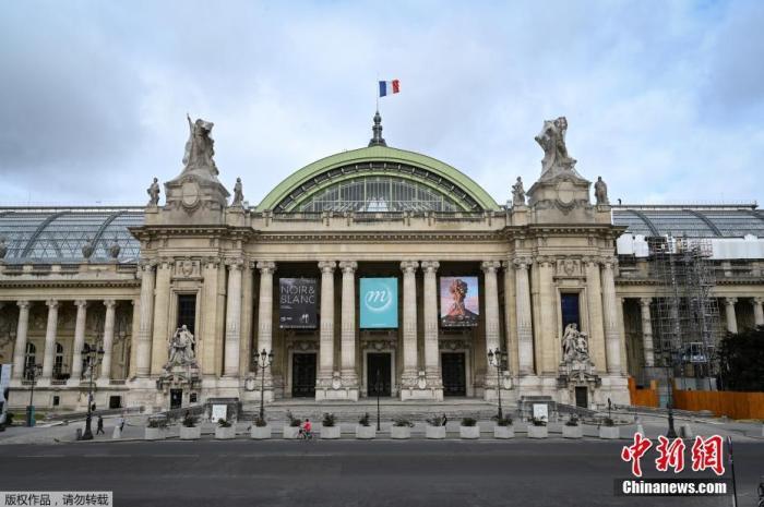 当地时间2020年7月1日,法国,巴黎大皇宫重新开放。