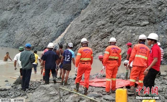 当地时间7月2日早上6时30分左右,缅甸帕敢翡翠矿区发生大规模塌方,目前已导致数十人遇难。