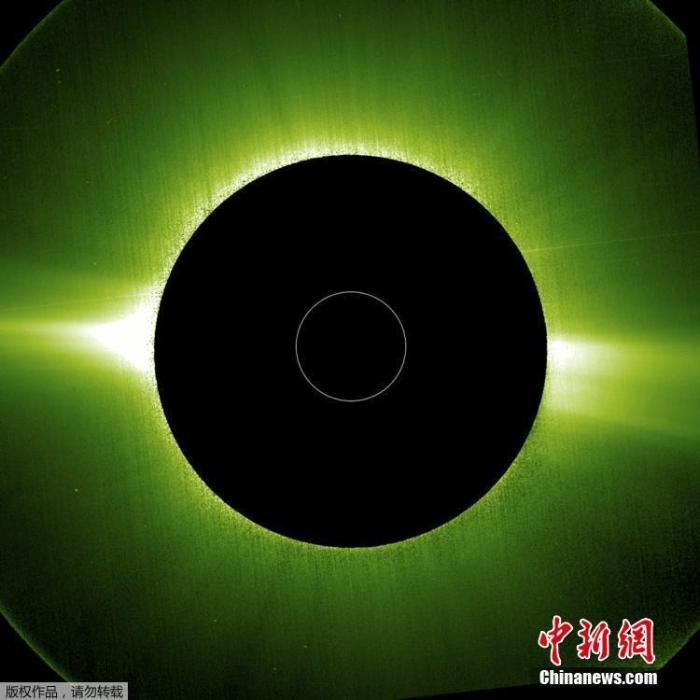 """""""营火""""环绕!史上最近距离拍摄的太阳""""特写""""曝光(图)"""