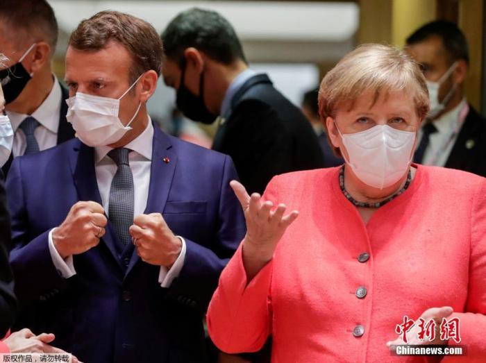 欧盟经济救助计划谈判陷僵局 法德领导人表审慎乐观