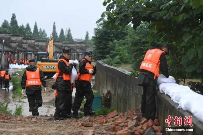 官方调运3.1万件中央防汛物资支持安徽抗洪抢险救援