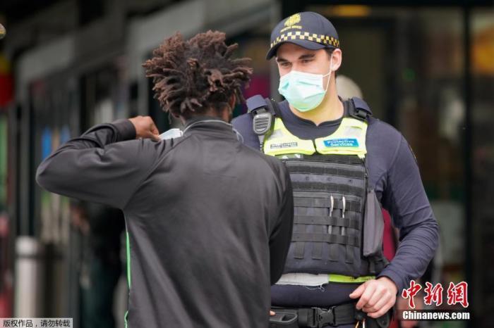 """澳大利亚每日新增病例仍有数百 民众积极战""""疫"""""""
