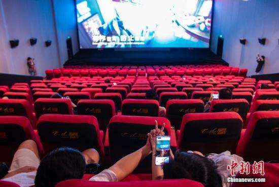 中国电影市场反弹