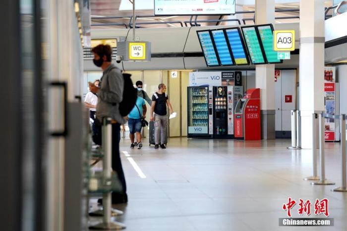當地時間7月31日,新冠疫情前德國柏林最繁忙的泰格爾機場如今門庭冷落。<a target='_blank' href='http://www.duomifood.com/'>中新社</a>記者 彭大偉 攝